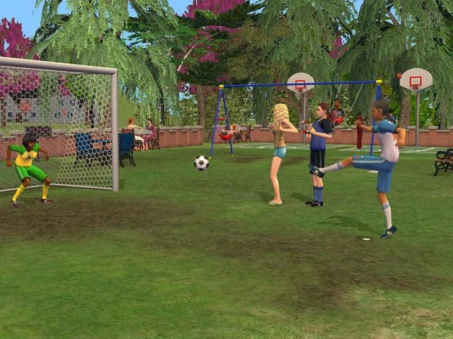 Перейти к скриншоту из игры strong em Sims 2: FreeTime, The/em/strong под н