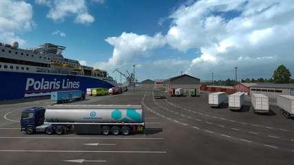 Euro Truck Simulator 2: Beyond the Baltic Sea - game