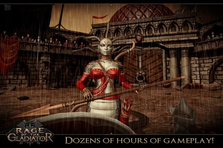 Rage of the Gladiator - Хотите почувствовать себя великим гладиатором? . И