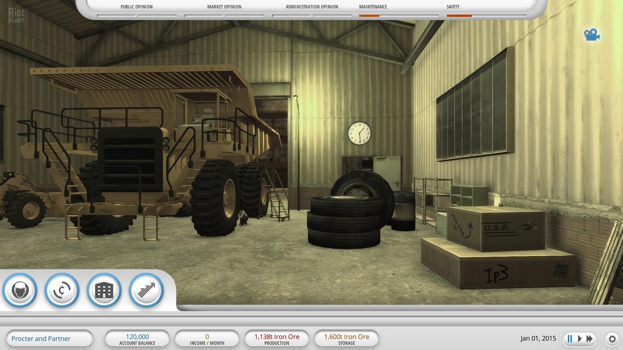 Mining Industry Simulator - скачать бесплатно торрент