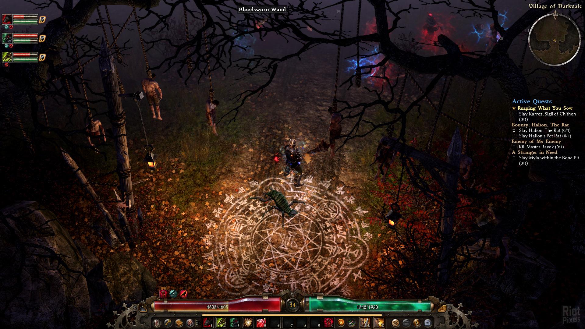 Grim Dawn - game screenshots at Riot Pixels, images