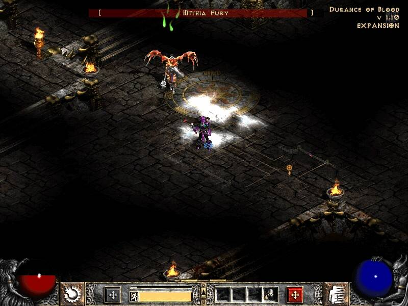 Diablo II: Lord of Destruction. кадры из игры.