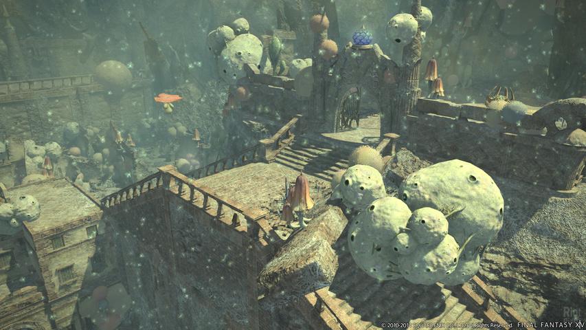 Видео и изображения Final Fantasy 14: A Realm Reborn - патч 2.2, хвалебный