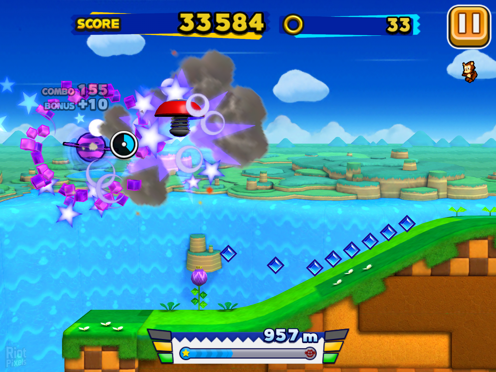 Sonic Runners Game Screenshots At Riot Pixels Images