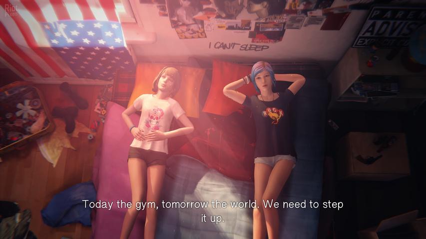 Две девочки лесби ласкаются в гараже