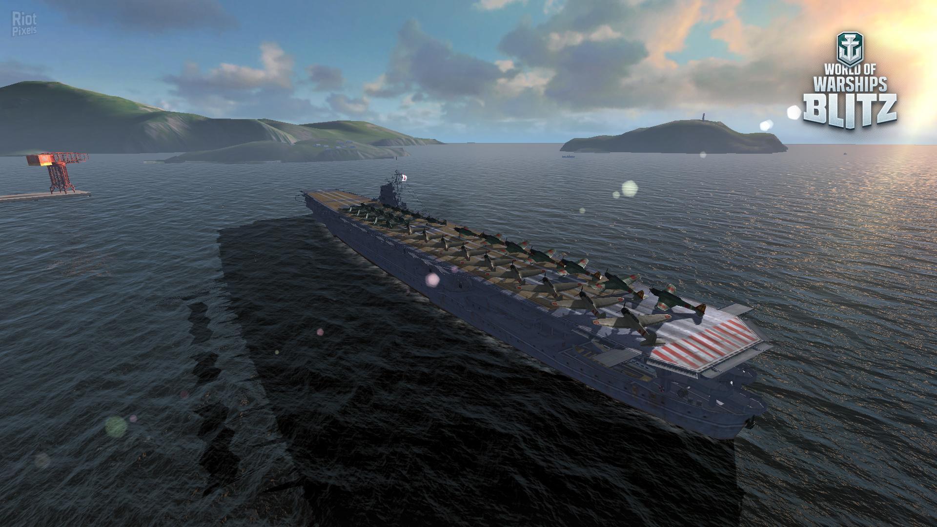 World of Warships Blitz - game screenshots at Riot Pixels