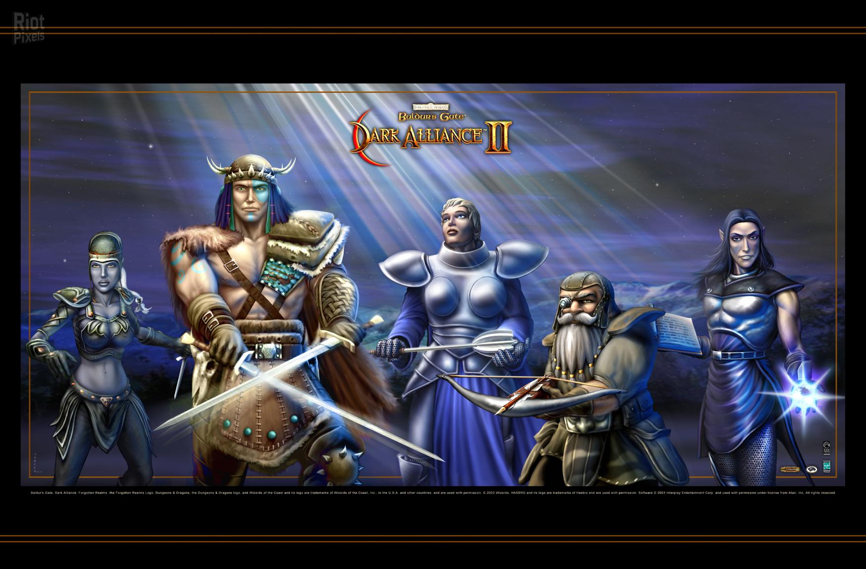 Baldurs Gate Dark Alliance 2 Game Wallpaper At Riot