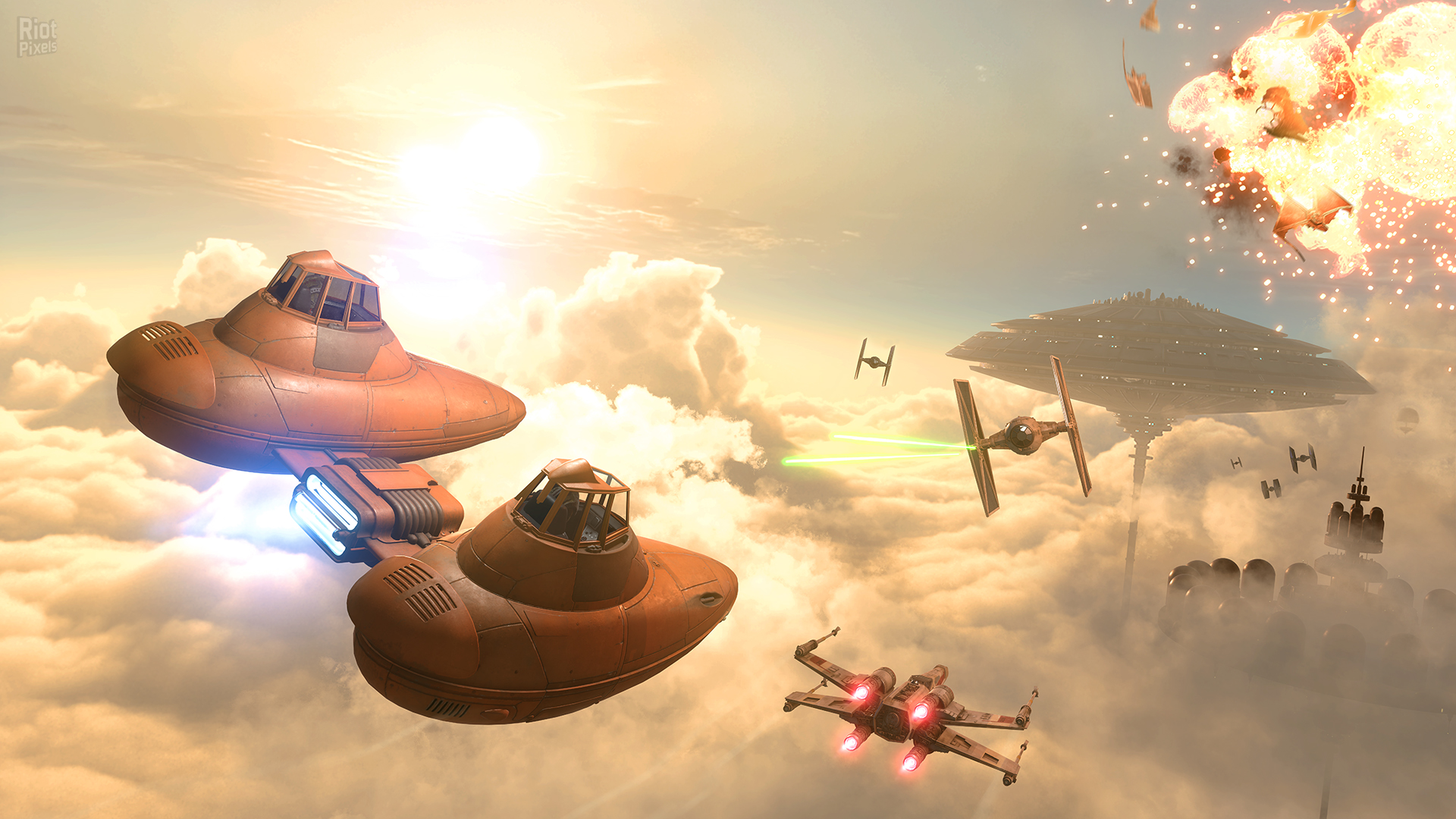 Star Wars Battlefront Bespin Game Screenshots At Riot Pixels Images