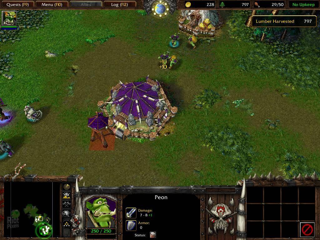 Warcraft 3: Reign of Chaos. . Перейти к просмотру случайной игры.