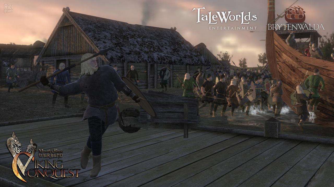 Mount & Blade: Warband - Viking Conquest - скачать бесплатно торрент
