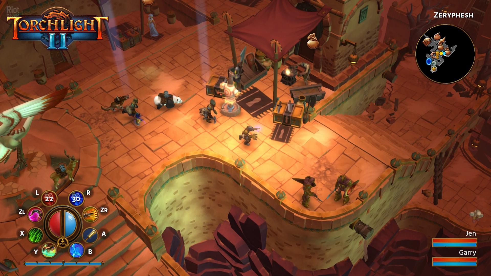Torchlight 2 - скриншоты из игры на Riot Pixels, картинки