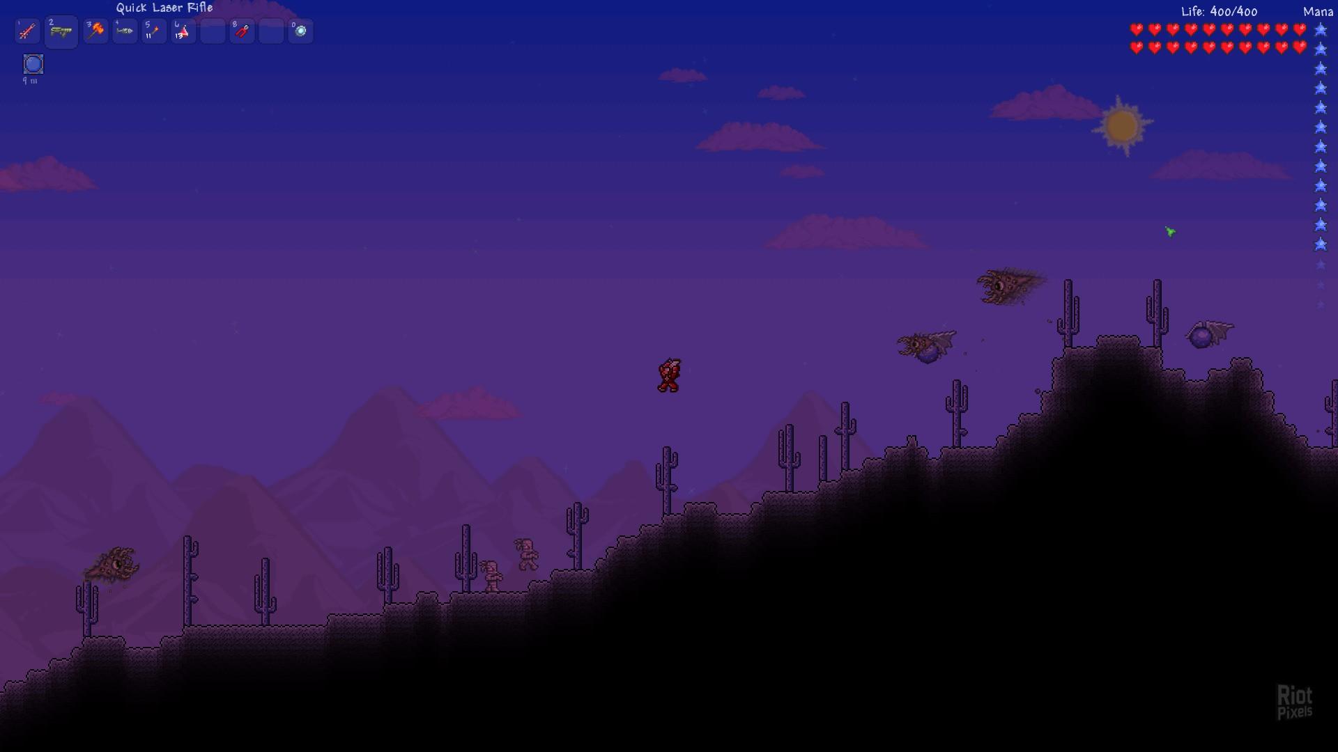 Terraria - game screenshots at Riot Pixels, images