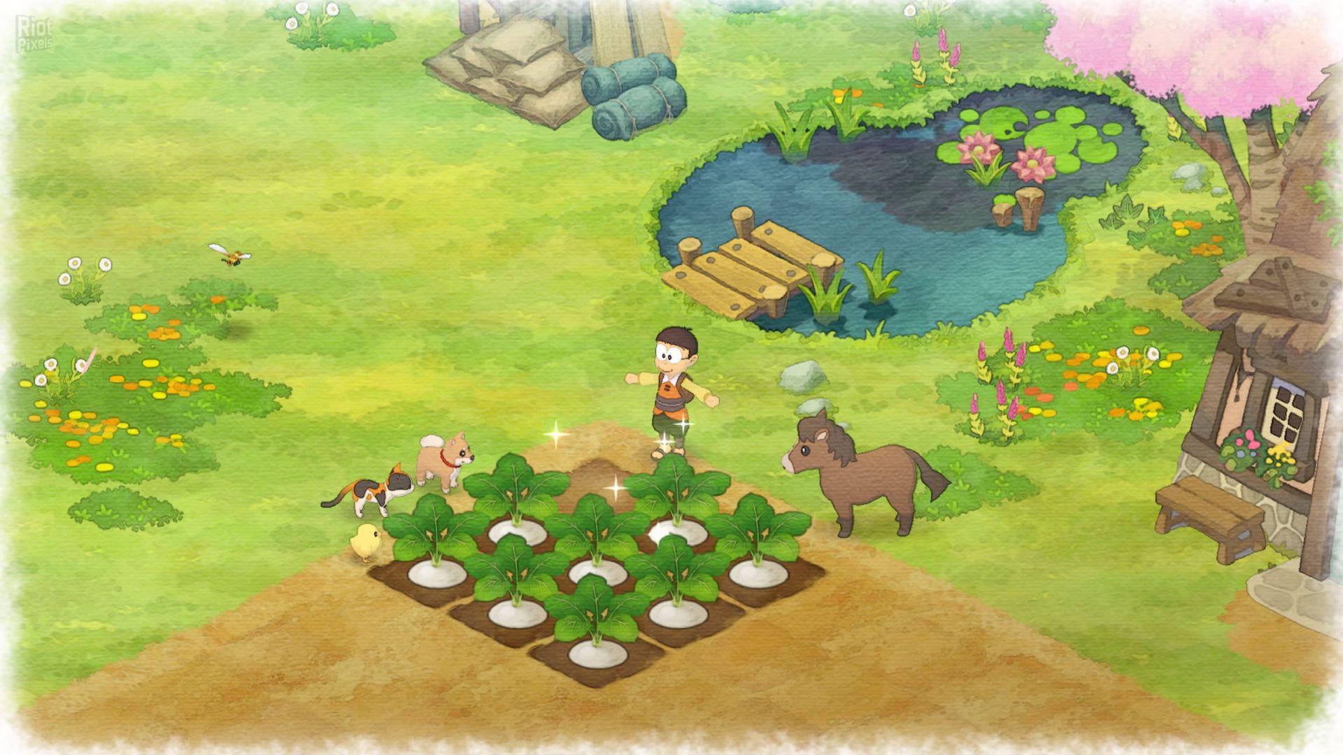 Doraemon Story Of Seasons Game Screenshots At Riot Pixels Images