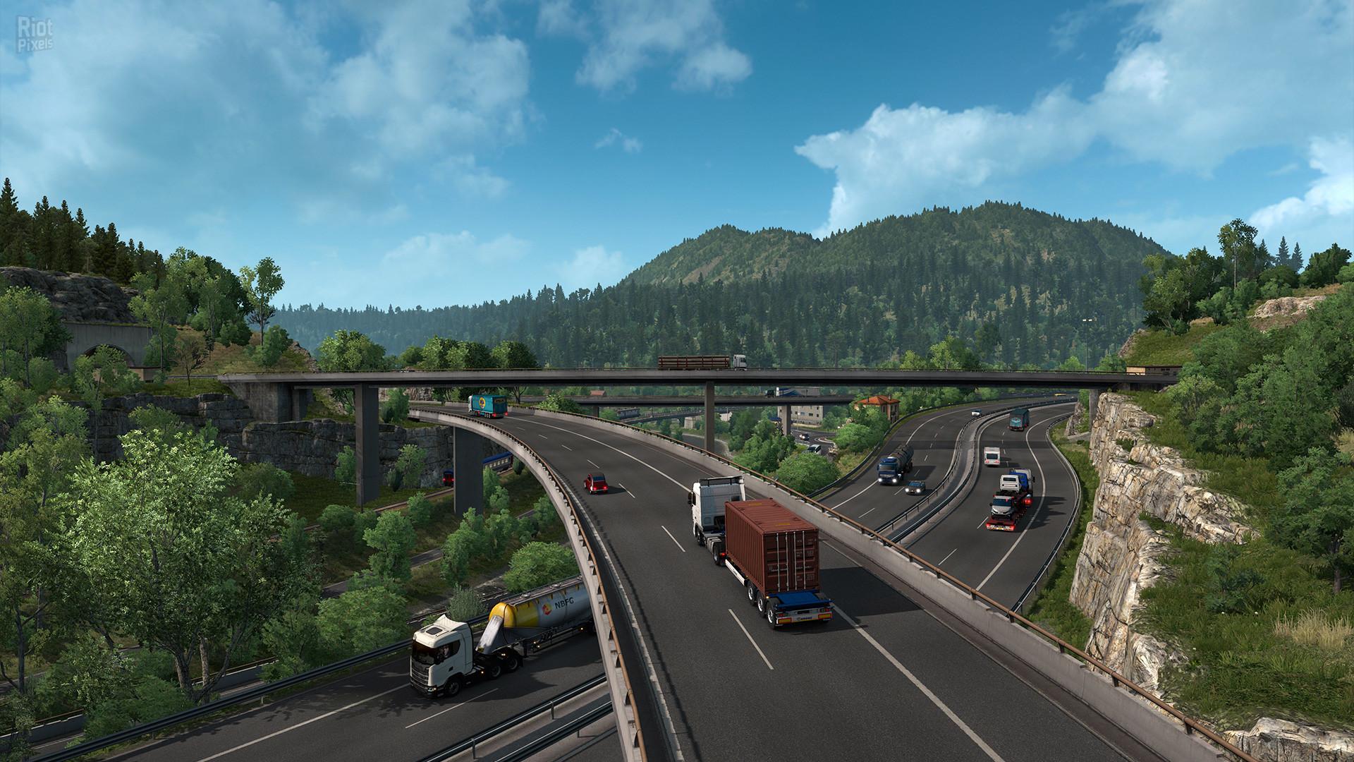 Download Euro Truck Simulator 2 (v1.40.3.3s + 75 DLCs