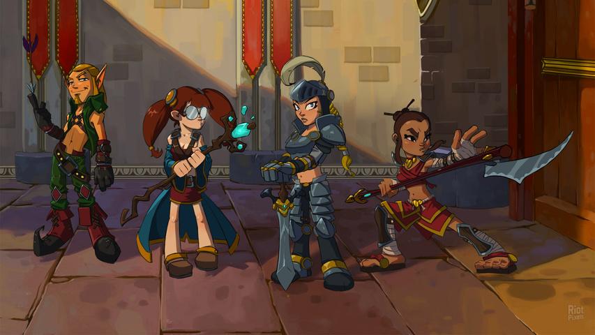 Основные особенности Dungeon Defenders тактика персонажи навыки.