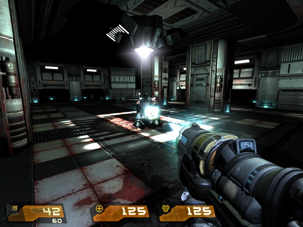 Quake 4 - game screenshots at Riot Pixels, images