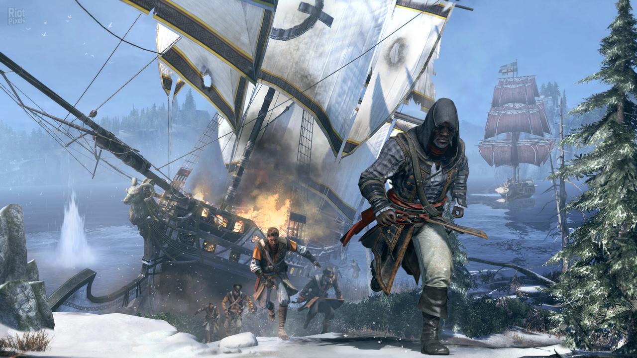 Assassin's Creed: Rogue - скачать бесплатно торрент