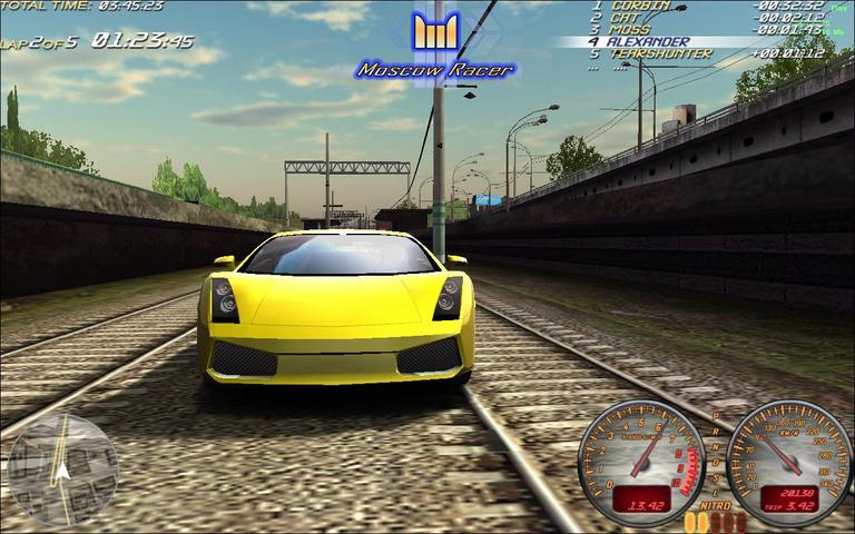 Скачать игру Moscow Racer (2009) RUS + Патч.