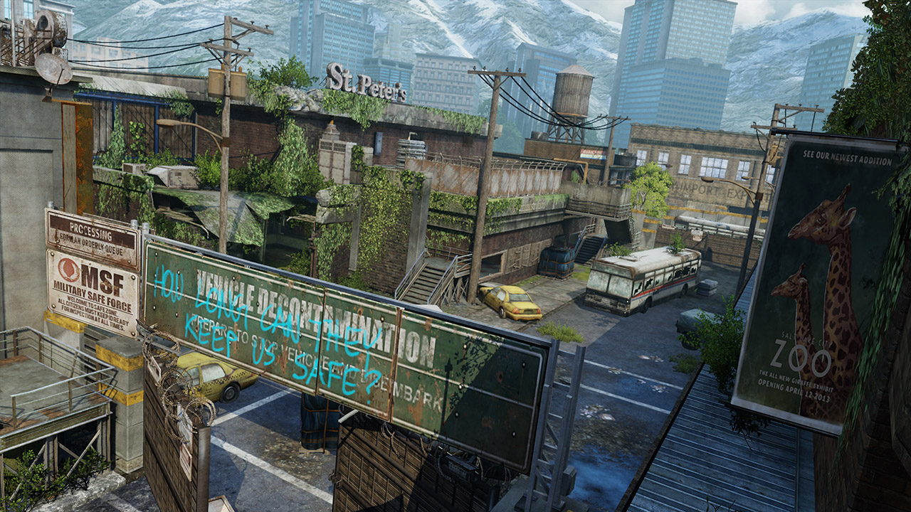 Last Of Us Abandoned Territories Map Pack The Game Screenshots - Last of us map pack