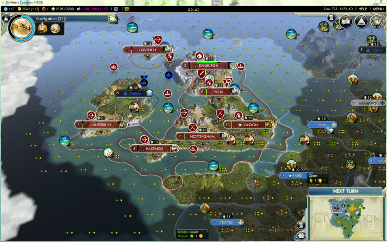 And v for this civilization civilization is fotos latest patch 1. An when 1