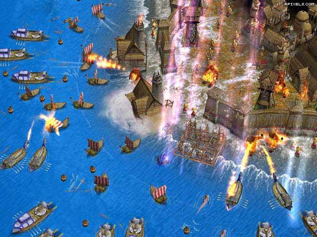Age of Mythology вышла в свет в 2002, однако в России оказалась лишь через