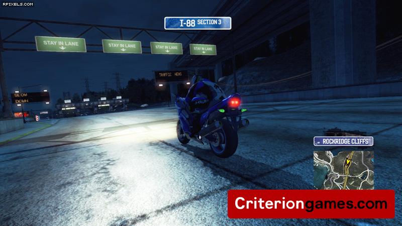 Мотоциклы в мире Burnout Paradise. xbox 360 игры. playstation 3 игры.