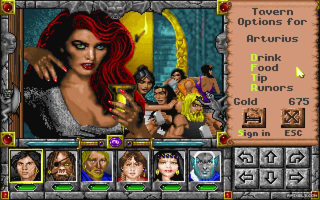 В оригинале: Might and Magic IV: Clouds of Xeen (1992) RUS! . Разработчик: