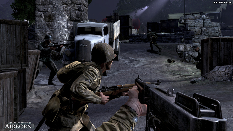 Medal of Honor Airborne screen 3. Скриншот 3 Medal of Honor Airborn