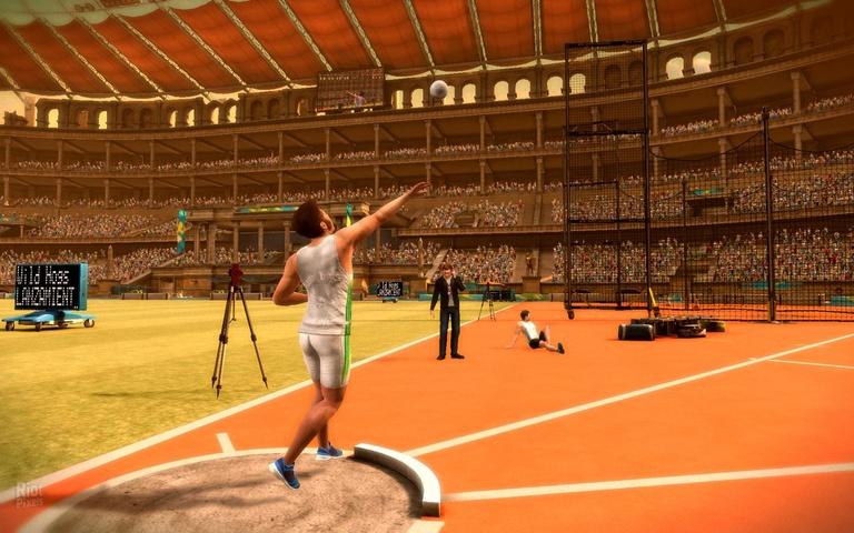 Перейти к скриншоту из игры strong em Summer Challenge: Athletics Tournamen