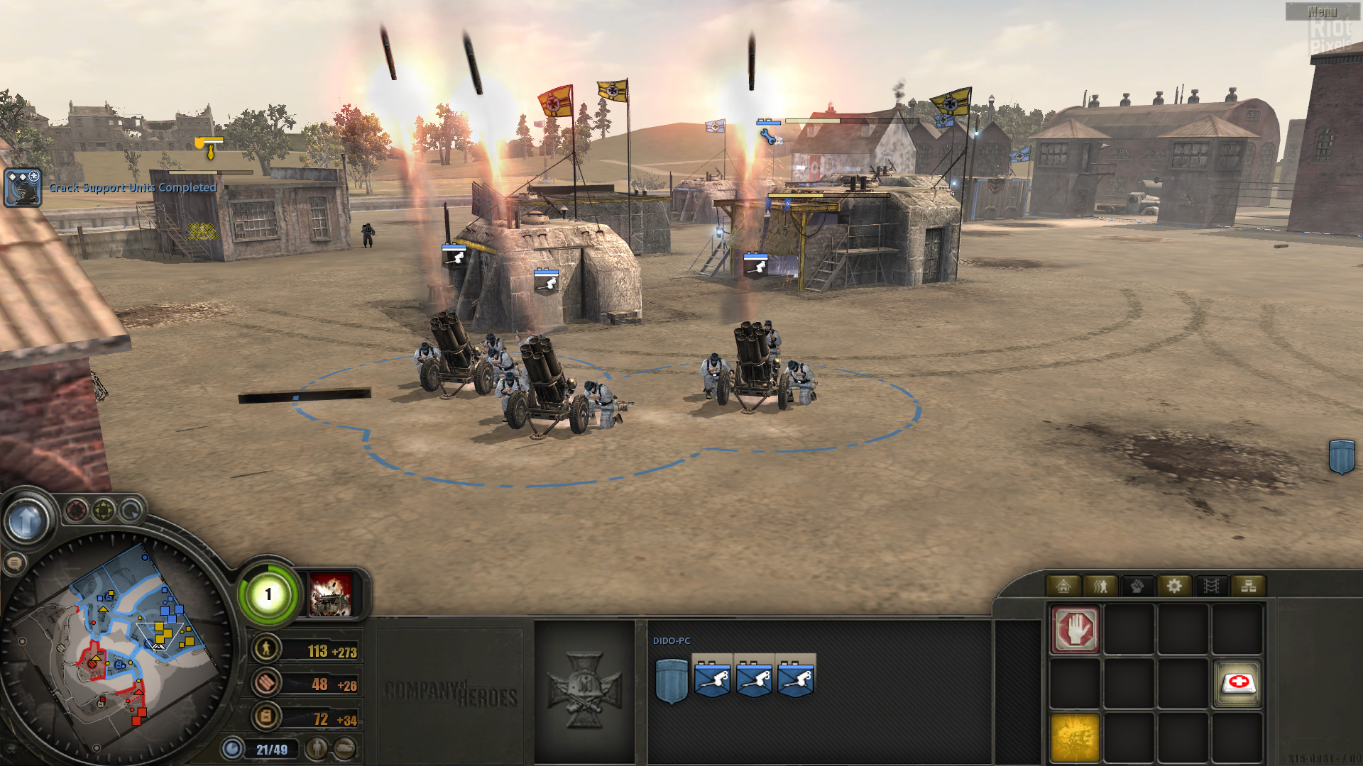 Company Of Heroes Tales Of Valor Game Screenshots At Riot Pixels Images