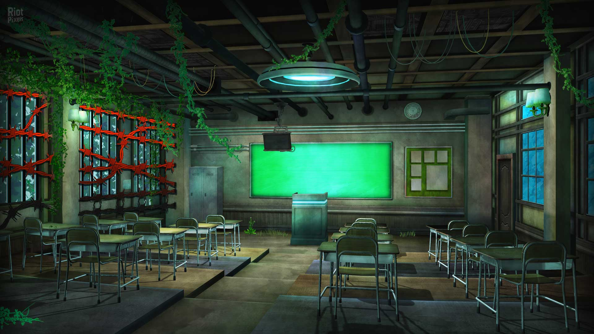 Image result for danganronpa background in game