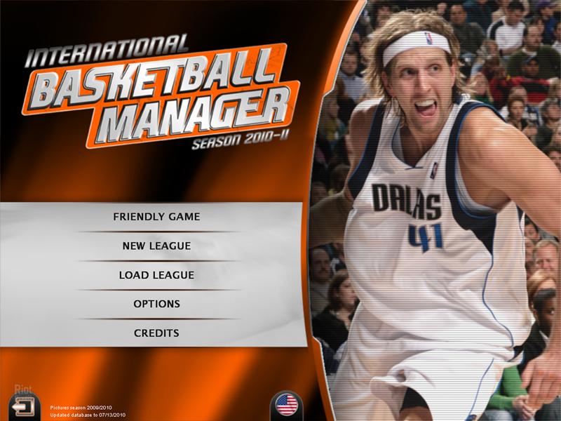 International Basketball Manager Season 2010 11 Game Screenshots
