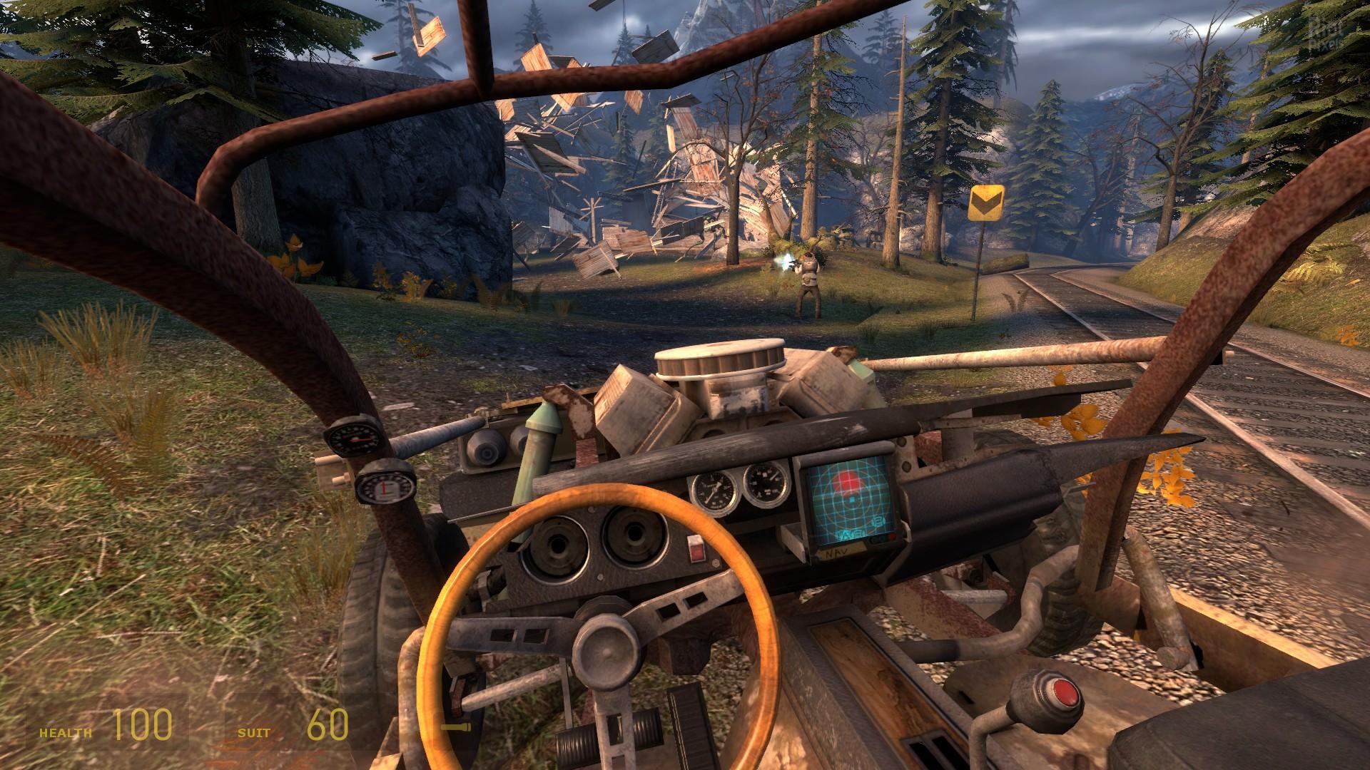 Half-life 2 - fakefactory cinematic mod v11 release candidate (fakefactory) (rus) mods rip от rgbestgamernet