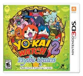 Yo Kai Watch 2 Psychic Specters Game Screenshots At Riot