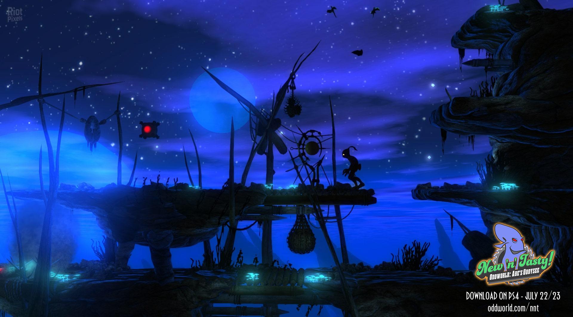Oddworld: Abe's Oddysee - скачать бесплатно торрент