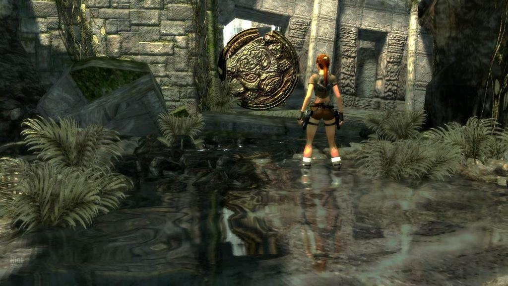 Tomb Raider Legend Game Screenshots At Riot Pixels Images