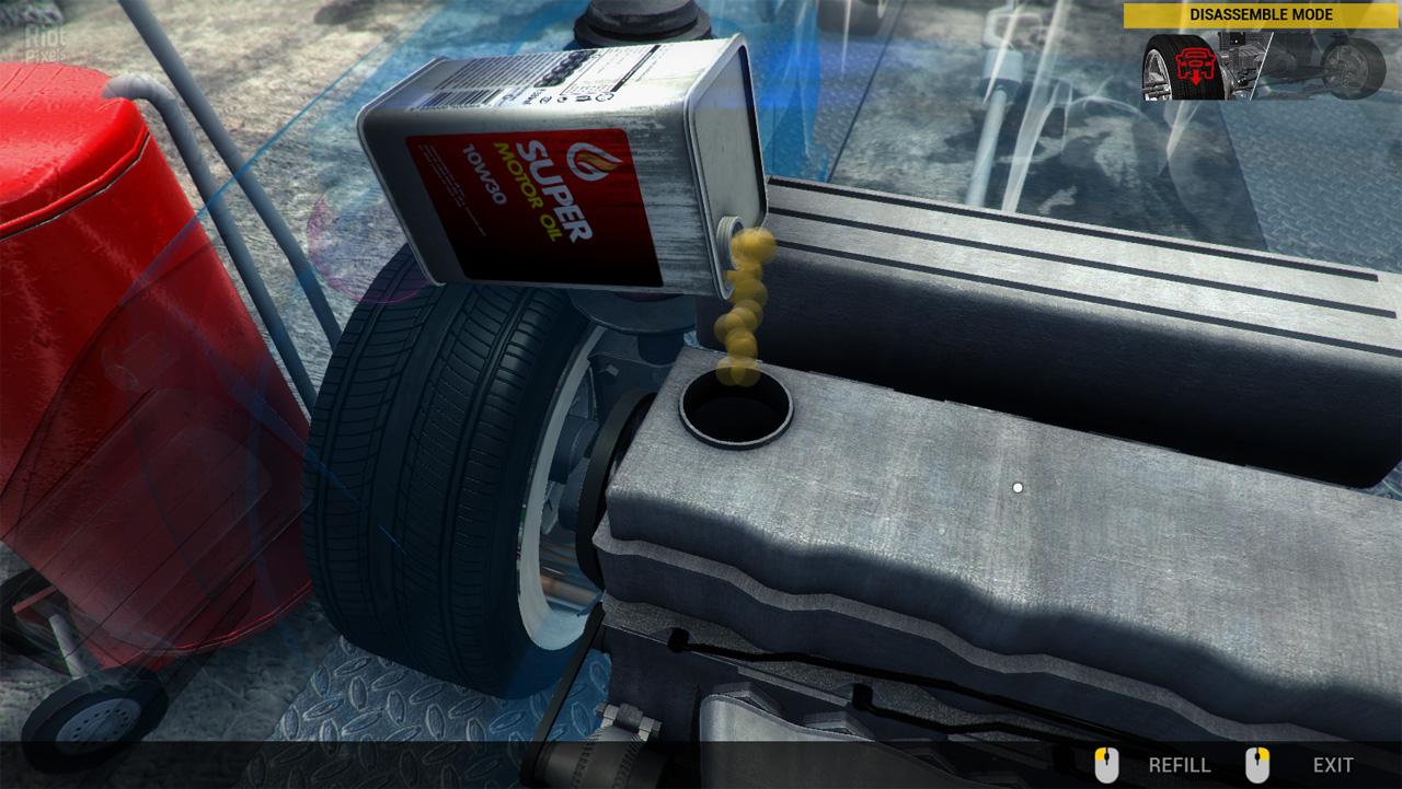Симулятор автомеханика топливный фильтр