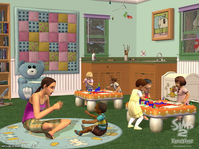 Скачать игру The Sims 2 FreeTime через торрент бесплатно на PC. после кормл