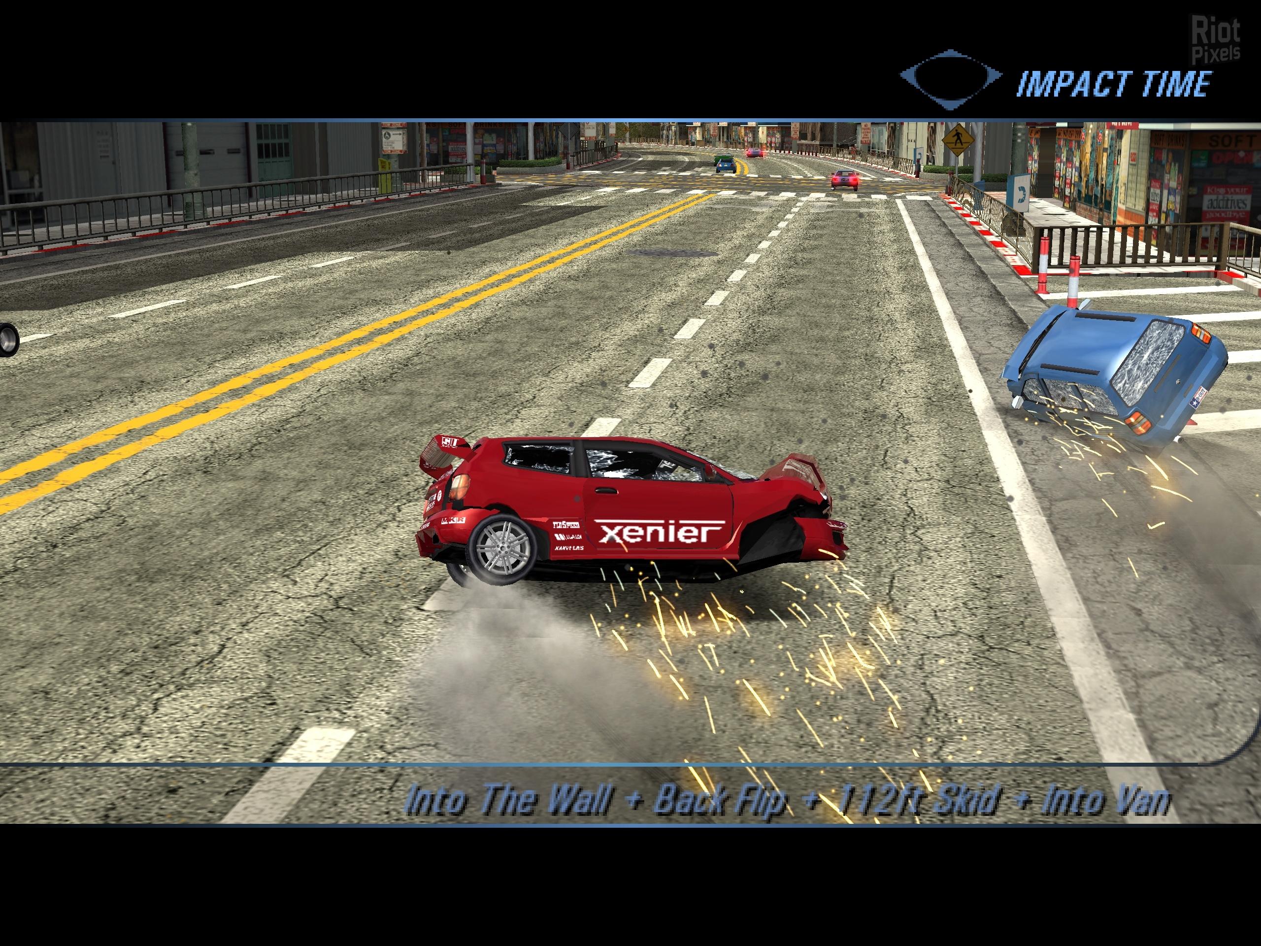Burnout 3: Takedown - game screenshots at Riot Pixels, images