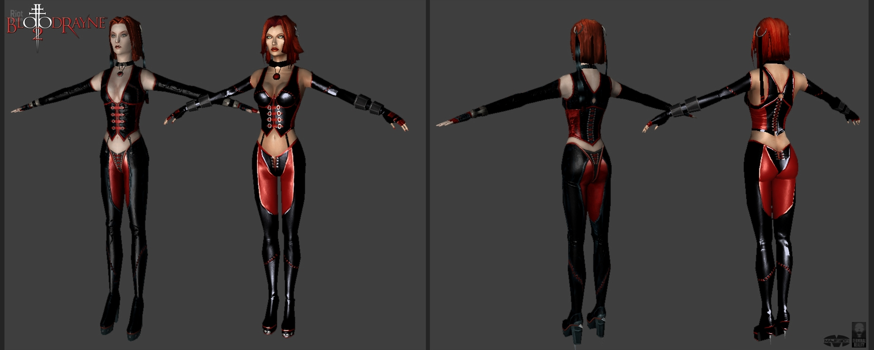 Bloodrayne 2 skins hentai photo