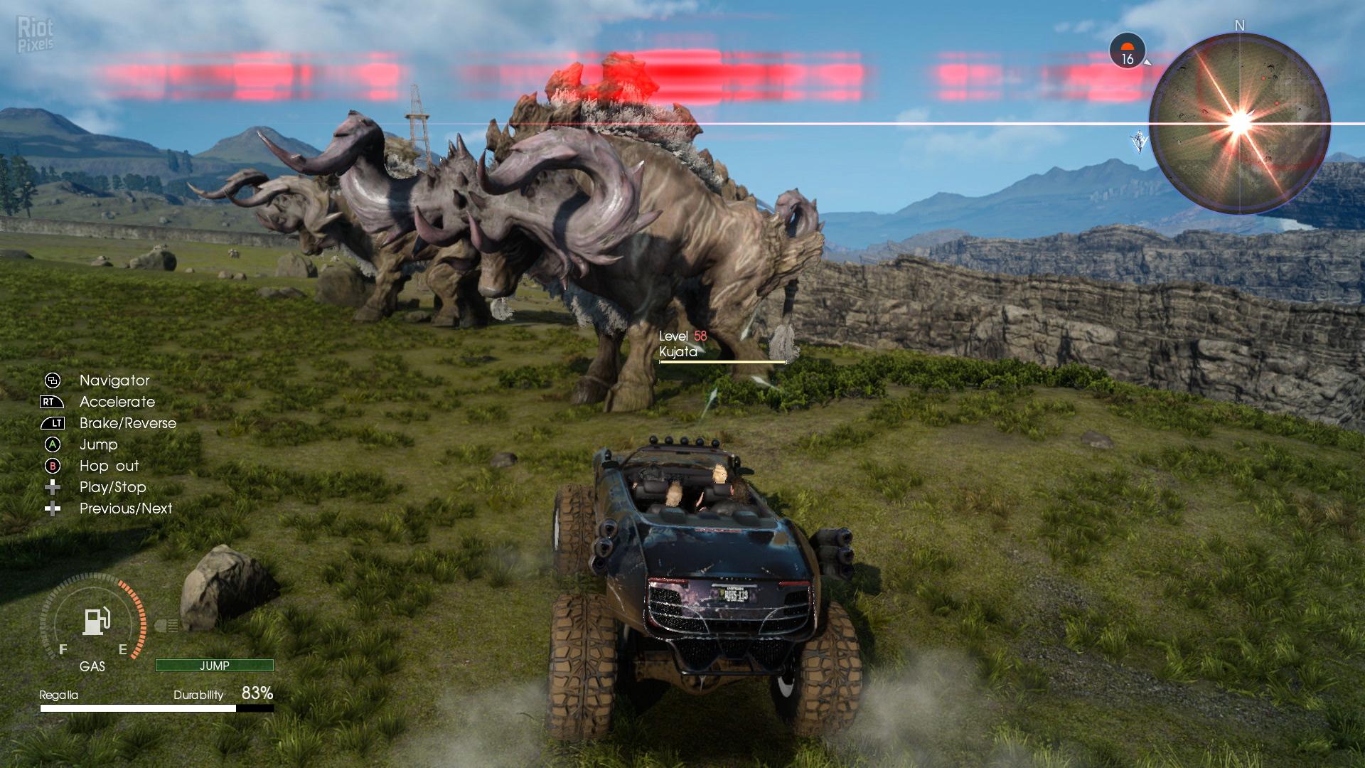 Final Fantasy 15: Windows Edition - game screenshots at Riot Pixels