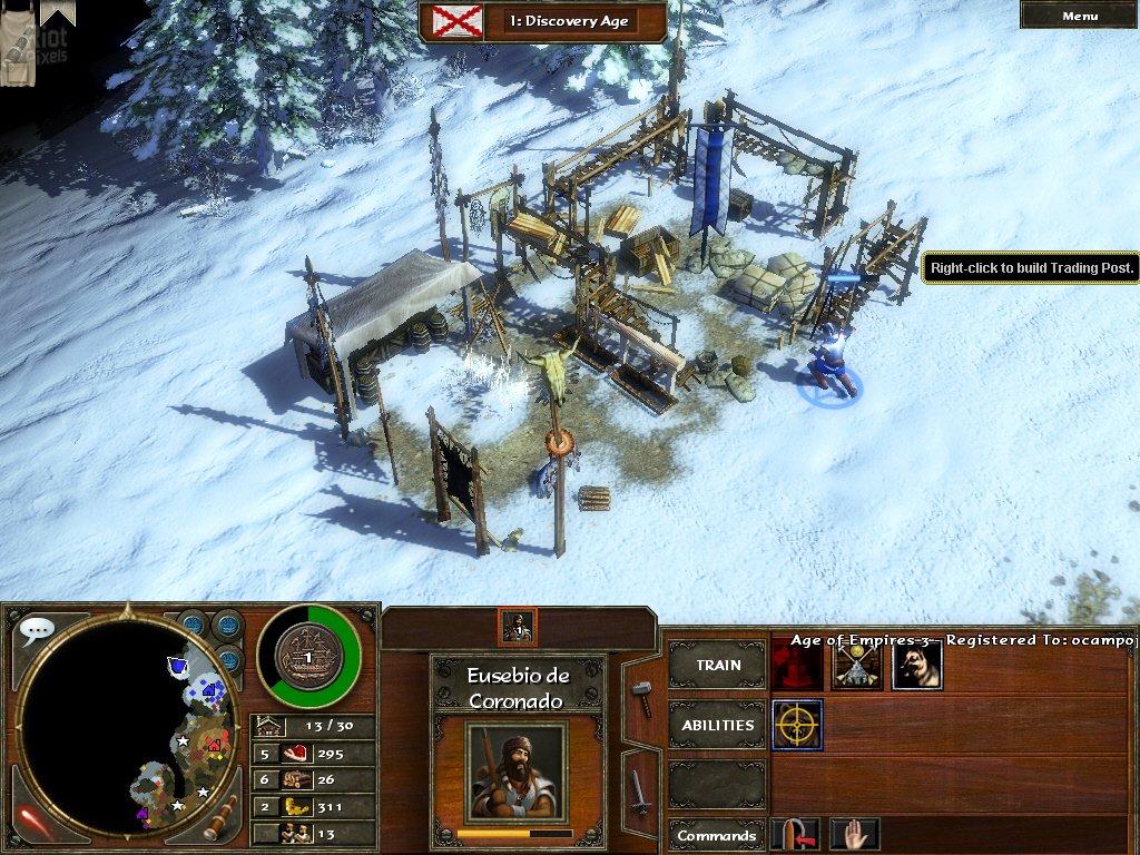 Age of Empires 3 - game screenshots at Riot Pixels, images