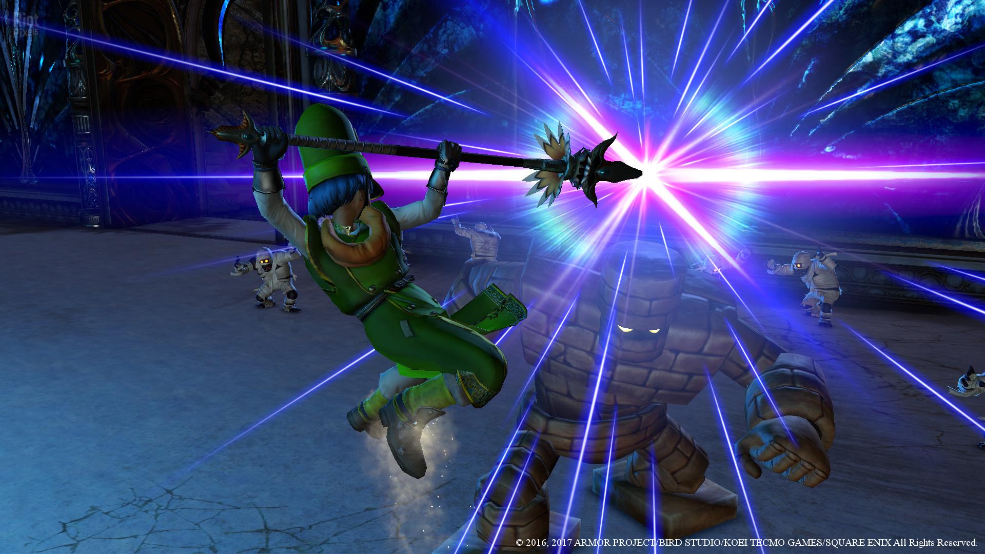 Dragon Quest Heroes 2 - game screenshots at Riot Pixels, images