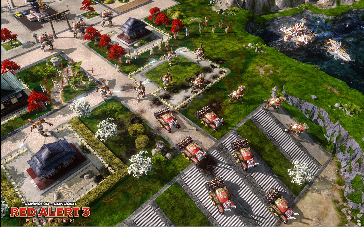 Command & Conquer: Red Alert 3 - Uprising.