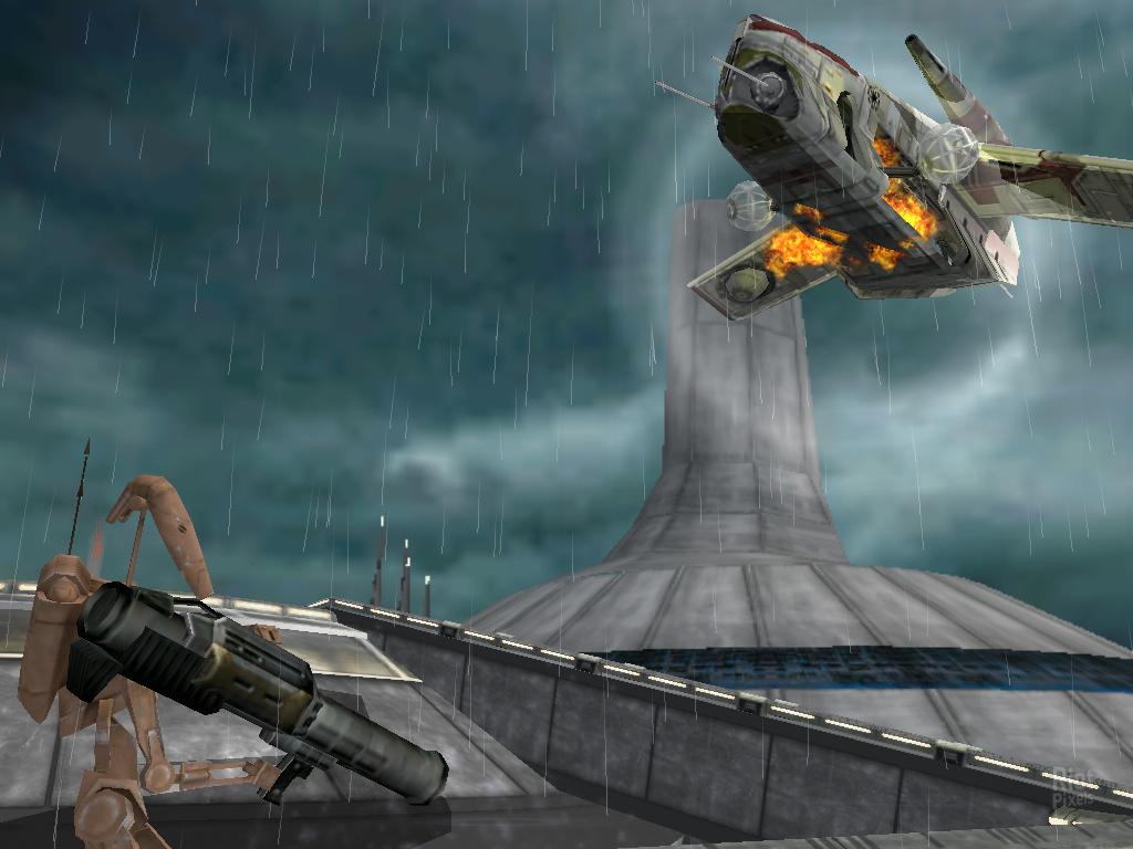 Star Wars Battlefront I 2004 Game Screenshots At Riot Pixels Images