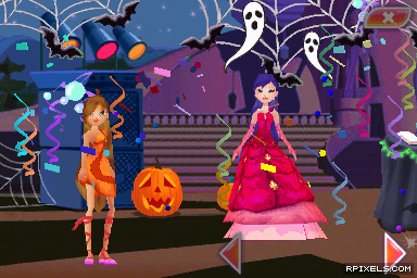 Winx Club: Magical Fairy Party - game screenshots at Riot