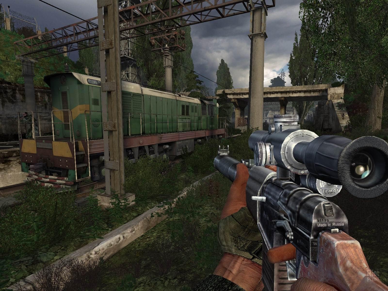 В компьютерной игре S.T.A.L.K.E.R. Тень Чернобыля часто выд.