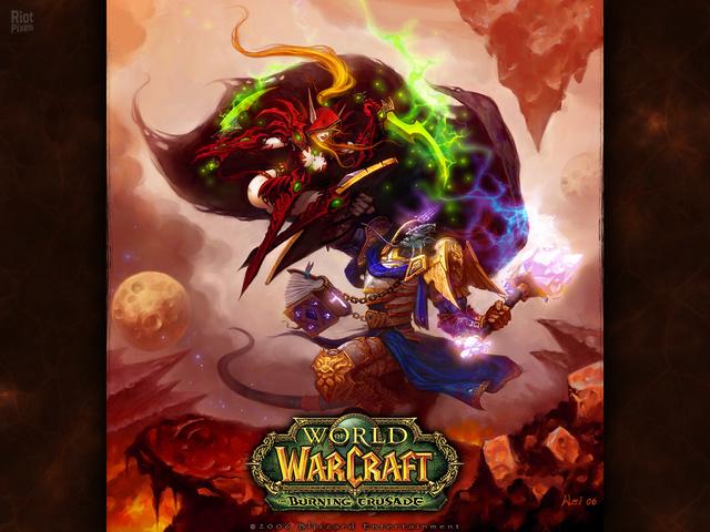 World Of Warcraft The Burning Crusade Game Wallpapers At