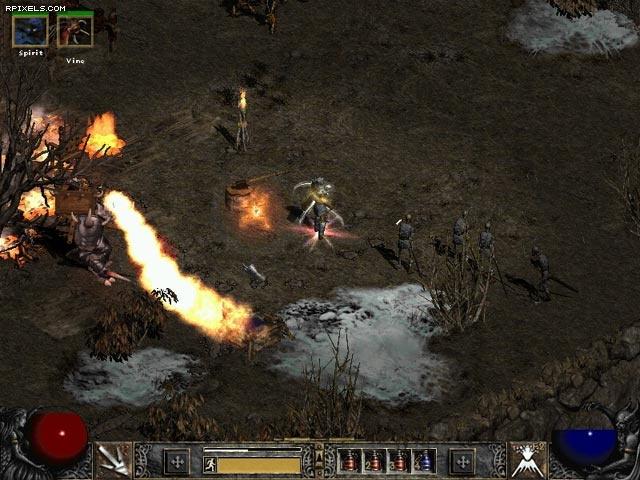 Используйте следующие ссылки для вставки скриншота Diablo 2: Lord of Destru