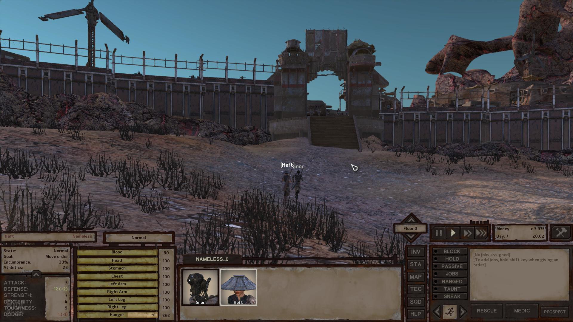 Kenshi - game screenshots at Riot Pixels, images